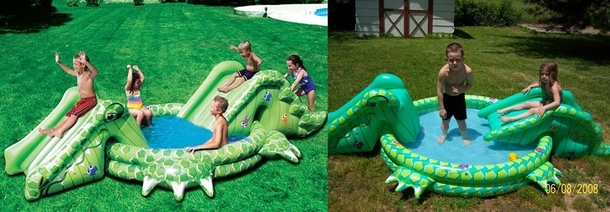 Pic #5 - Worlds smallest kids play on inflatables