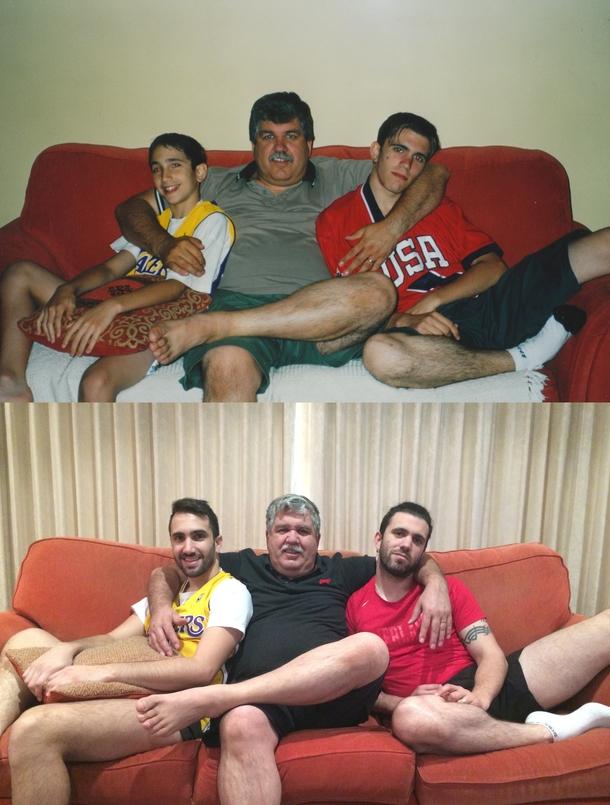 photos recreated as adults