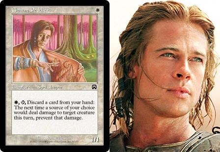 Pic #6 - Magic The Gathering cards that look frighteningly similar to celebrities