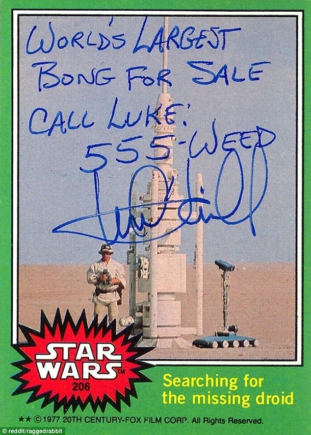 Pic #6 - Mark Hamill Gives the Best Autographs