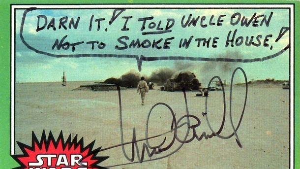 Pic #7 - Mark Hamill Gives the Best Autographs