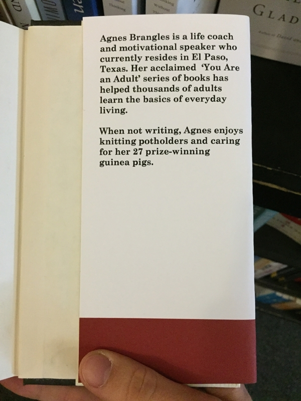Pic #8 - I made some fake self-help books and left them at a local bookstore