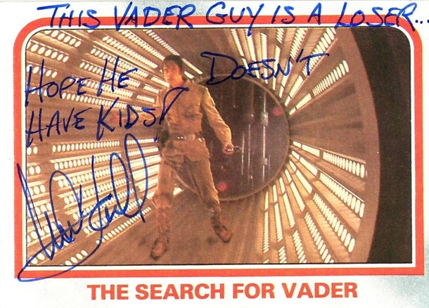 Pic #8 - Mark Hamill Gives the Best Autographs
