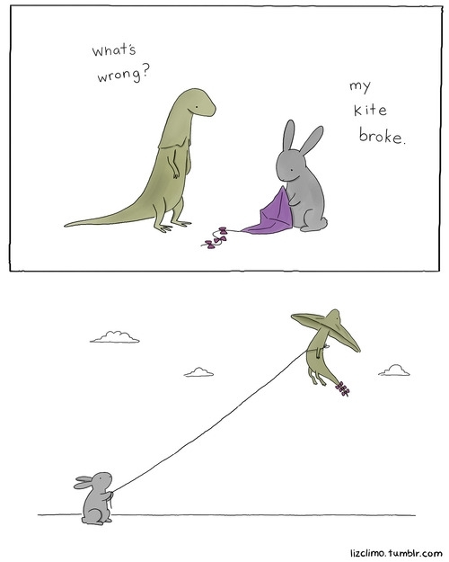 Pic 9 Animal Encounters Guaranteed To Cheer You Up By Liz Climo