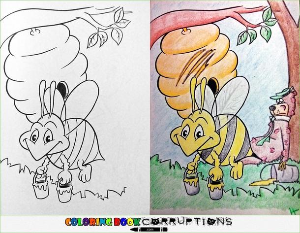 pic 9 coloring book corruptions part meme guy