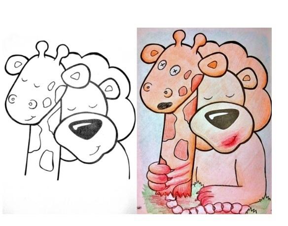 Pic 9 Hilarious Coloring Book Drawings Meme Guy