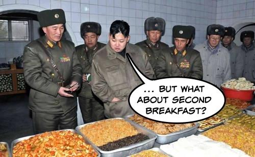 Kim Jong Un Looking At Things Gif
