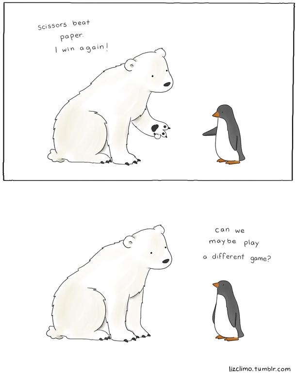 Polar Bear Vs Penguin Meme Guy