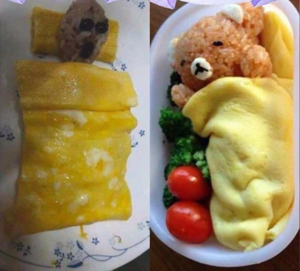 Rice bear under cheese blanket or not