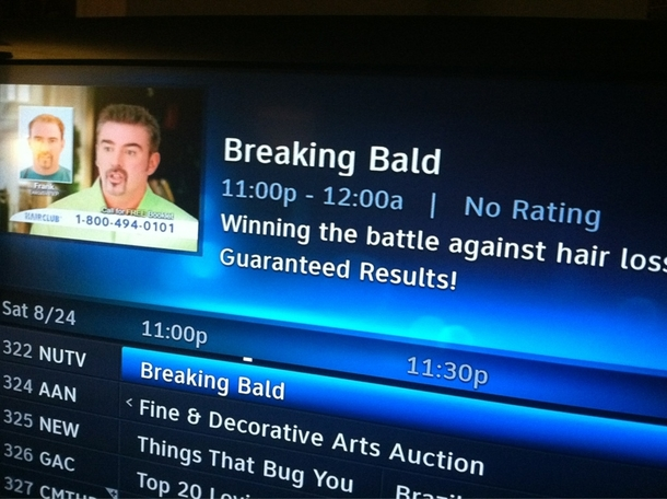 Saw Breaking Bad On A Weird Channel And Got Annoyed After The Commercial Wouldnt End Then I Realized