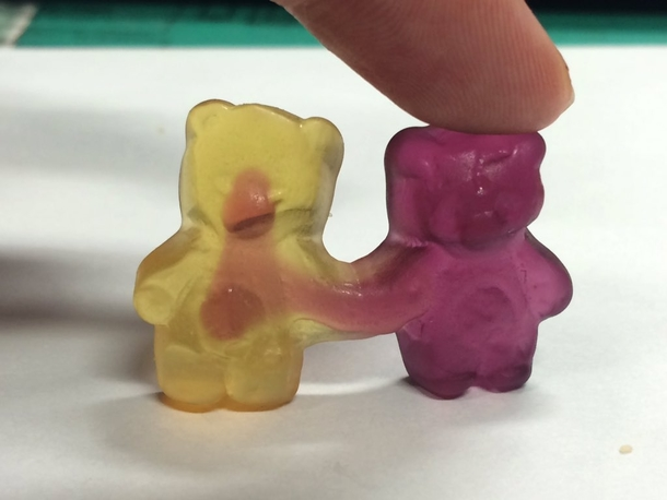 scary as fuck gummy bear 187907 scary as fuck gummy bear meme guy