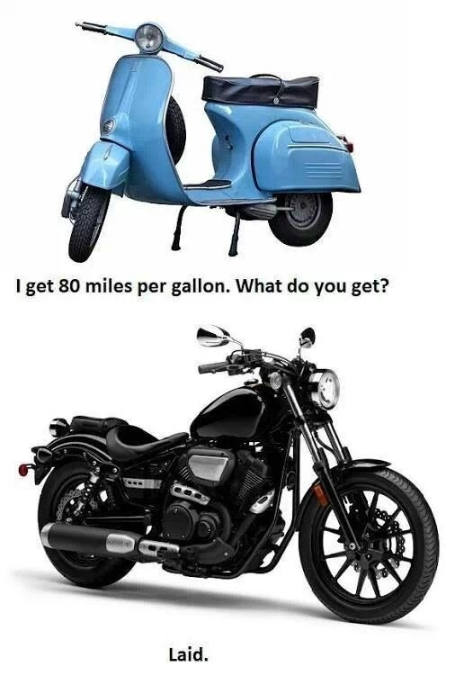 Scooter Vs Motorcycle Meme Guy