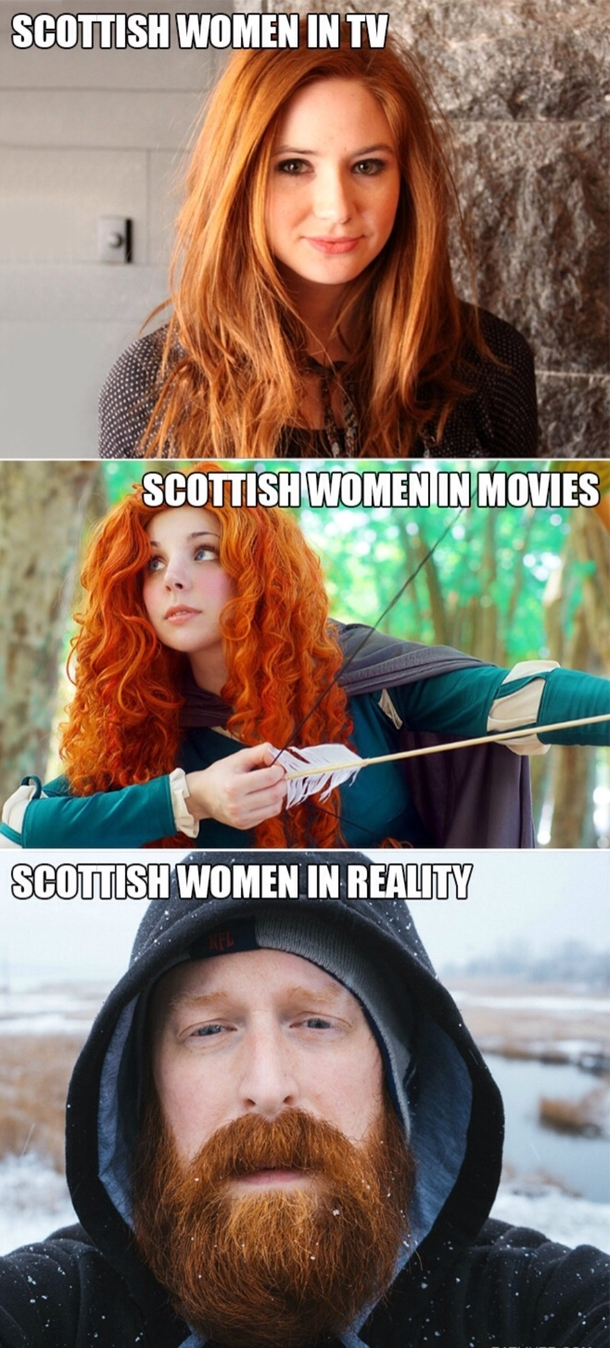What are scottish women like
