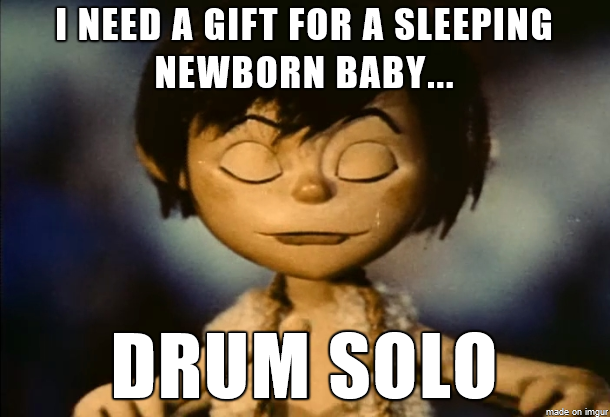 scumbag little drummer boy 151621 scumbag little drummer boy meme guy