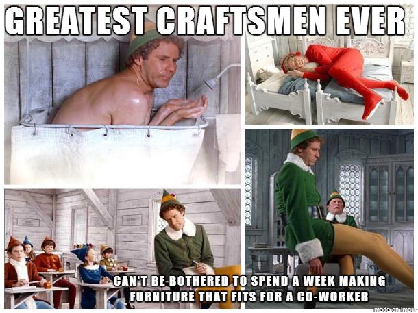 Scumbag Santas Helpers - Meme Guy