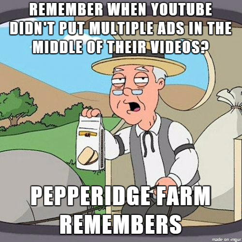 Seriously Seemingly every video over  minutes long