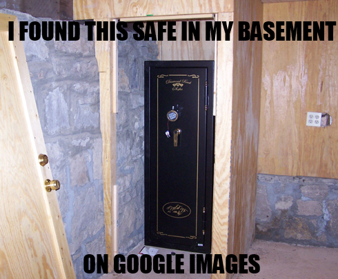 so i found this safe in my new basement tags funny found safe basement