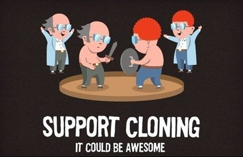 So I was reading some articles about human cloning and stumbled on this picture