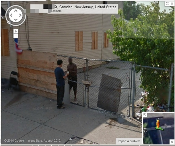 So Ive been clean for a while and I decided to look at the old dope spot on Google maps Was not disappointed or surprised