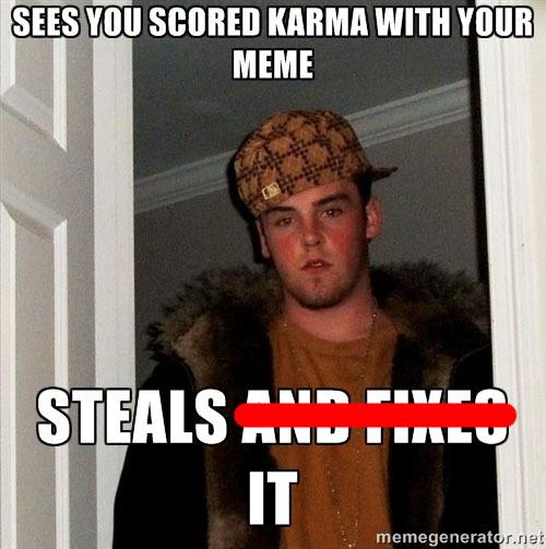 So Many Redditors Fixing Memes Lately
