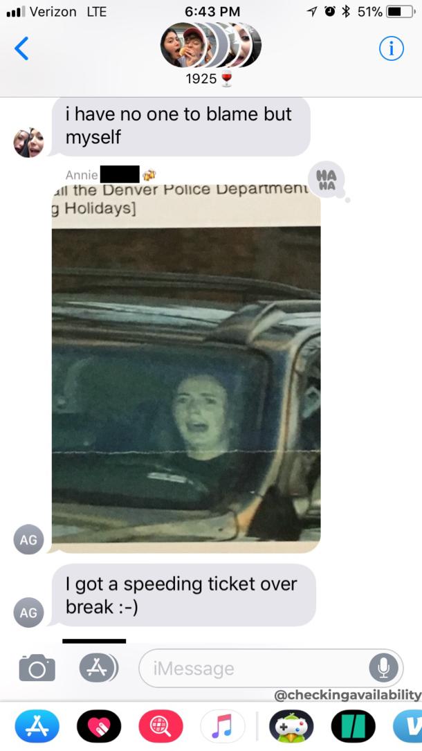 So My Friend Got A Red Light Ticket