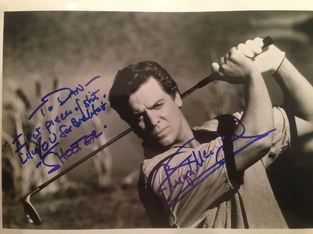 So my friend met Christopher McDonald at ComicCon