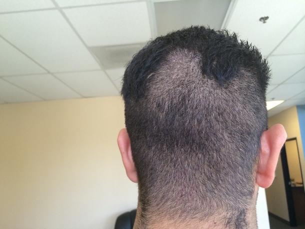 So The Warehouse Guy Cut His Own Hair This Weekend Meme Guy
