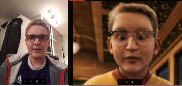 some friends told me i looked like the kid from the polar express 282450 some friends told me i looked like the kid from the polar express
