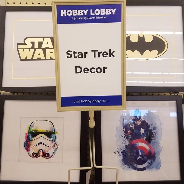 Star Trek Home Decor Only At Hobby Lobby