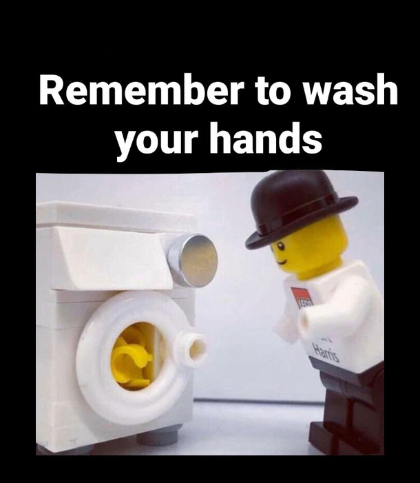 Stay safe people - Meme Guy