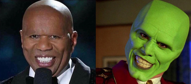 Steve Harvey Without Eyebrows Looks Like Jim Carrey In The Mask