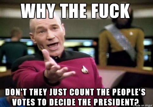 Electoral College Funny Meme : Superdelegates electoral college meme guy