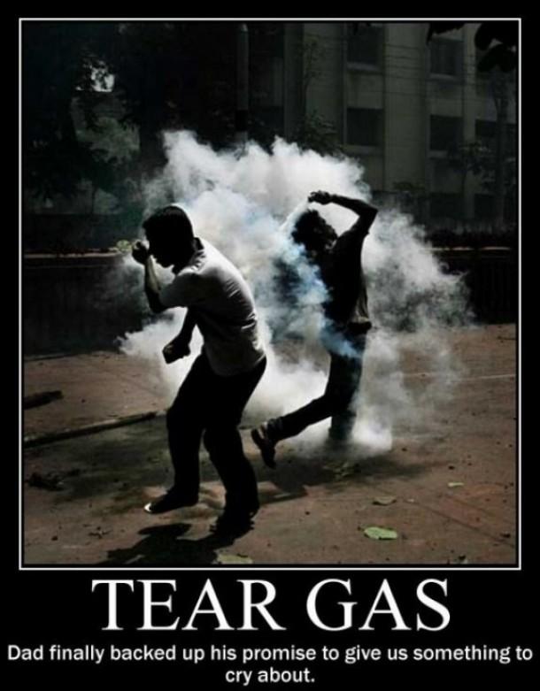 Tear Gas - Meme Guy