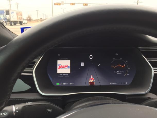 Tesla Christmas Eve Update introduced Santa Mode - car ...