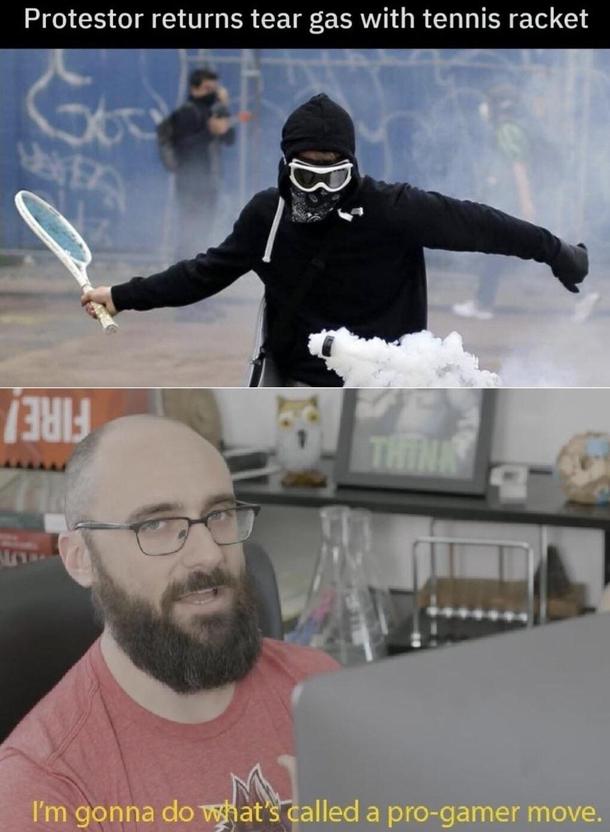 Thats a pro gamer move - Meme Guy
