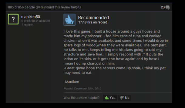 The best review for Rust Ive seen