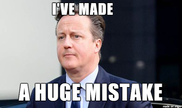 The British Prime Minister this morning