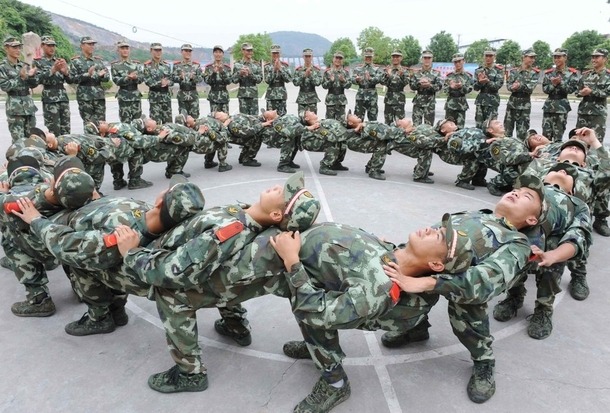 The Chinese military cut spending again this time on beds