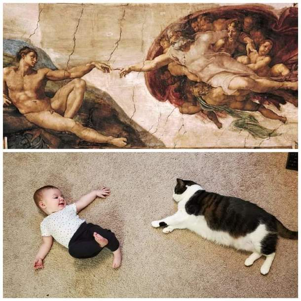 The creation of Grace and Walter