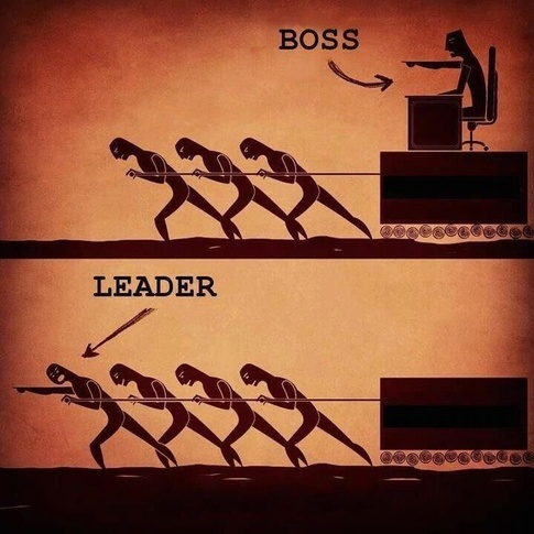 Image result for boss leader meme