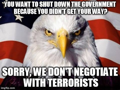 The Eagle weighs in on the shutdown