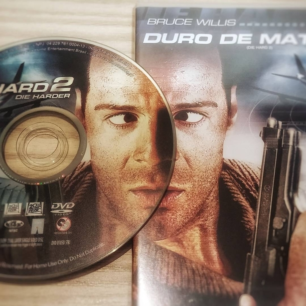 The mirroring on this Die Hard DVD