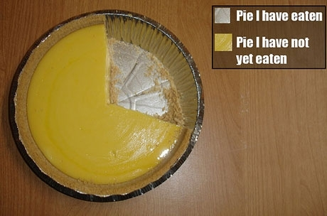 The most accurate pie chart to date