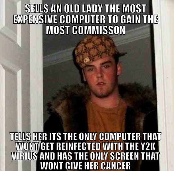 Funny Meme Retail : The scumbag retail salesperson i use to work with meme guy
