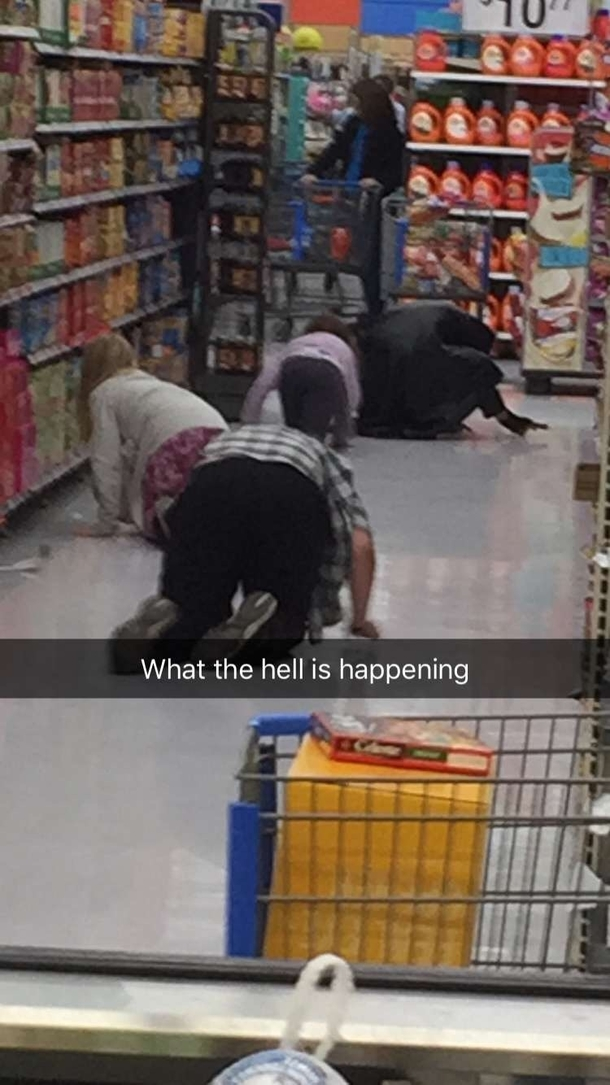 The Things You See In An Arkansas Walmart