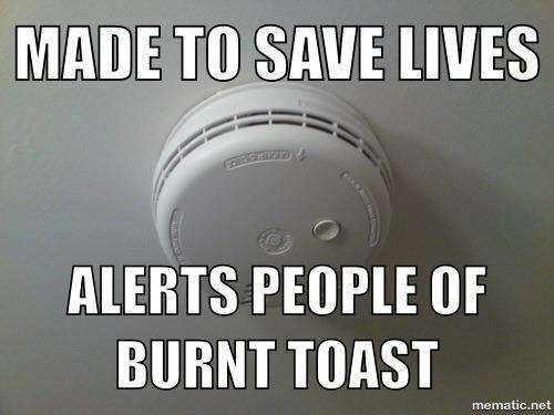 The True Life Of A Smoke Alarm Meme Guy