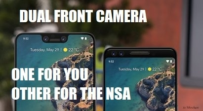 The truth about dual front facing cameras has been revealed