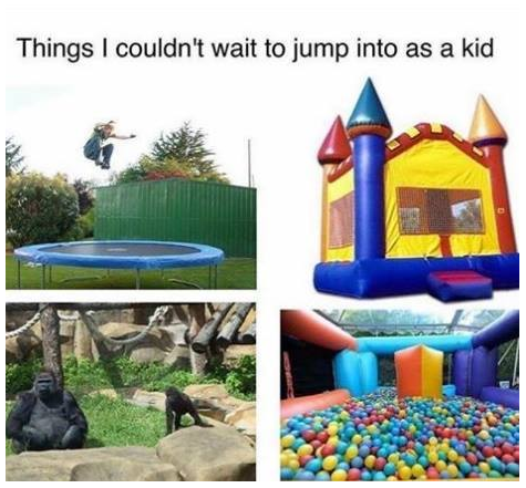 Things I couldnt wait to jump into as a kid