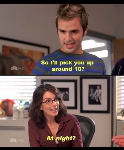 This is exactly how getting older feels Liz Lemon