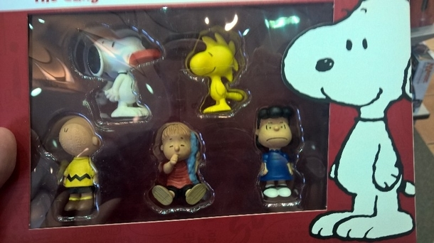 This is the most Charlie Brown way to package Charlie Brown